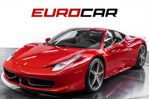 2015 Ferrari 458 Italia For Sale In Costa Mesa Ca