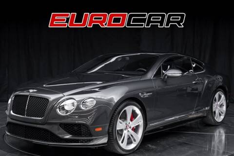 2016 Bentley Continental for sale in Costa Mesa, CA