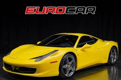 Super Car Price Of Used Ferrari 458 Italia In India