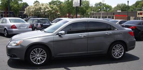 2012 Chrysler 200 for sale at BWK of Columbia in Columbia SC