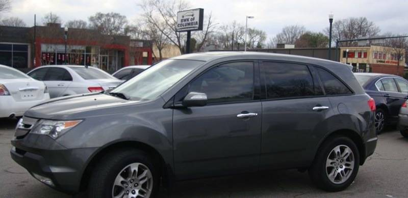 2007 Acura MDX for sale at BWK of Columbia in Columbia SC