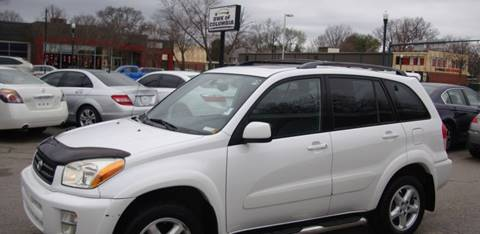 2002 Toyota RAV4 for sale at BWK of Columbia in Columbia SC