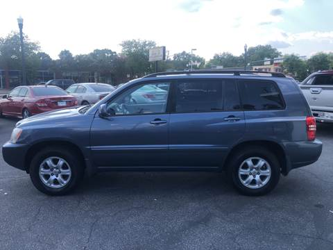 2003 Toyota Highlander for sale at BWK of Columbia in Columbia SC