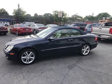 2008 Mercedes-Benz CLK for sale at BWK of Columbia in Columbia SC