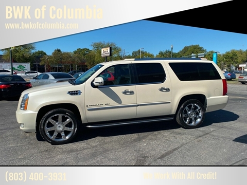 2008 Cadillac Escalade ESV for sale at BWK of Columbia in Columbia SC