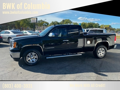 2007 GMC Sierra 1500 for sale at BWK of Columbia in Columbia SC