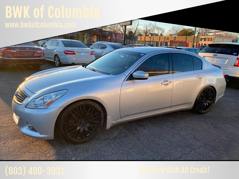 2011 Infiniti G25 Sedan for sale at BWK of Columbia in Columbia SC