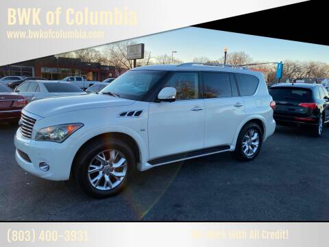 2014 Infiniti QX80 for sale at BWK of Columbia in Columbia SC