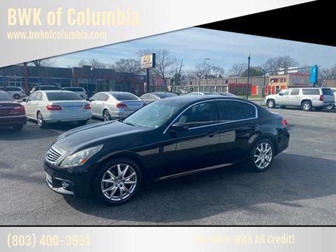 2011 Infiniti G37 Sedan for sale at BWK of Columbia in Columbia SC