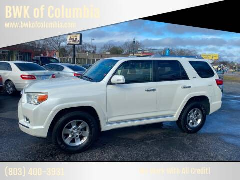 2012 Toyota 4Runner for sale at BWK of Columbia in Columbia SC