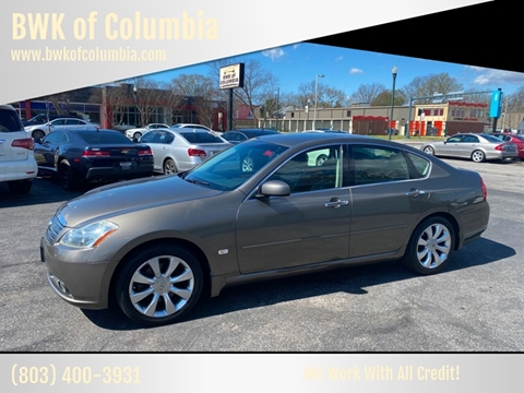 2007 Infiniti M35 for sale at BWK of Columbia in Columbia SC