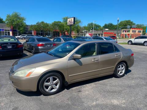 2003 Honda Accord for sale at BWK of Columbia in Columbia SC