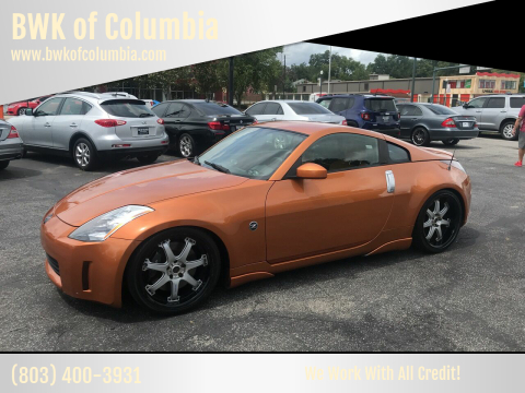 2003 Nissan 350Z for sale at BWK of Columbia in Columbia SC