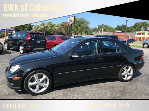 2006 Mercedes-Benz C-Class for sale at BWK of Columbia in Columbia SC