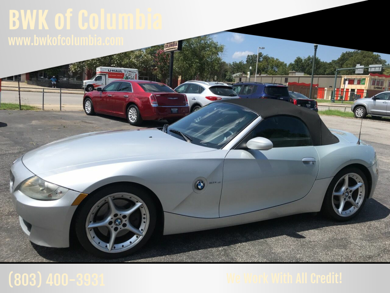2008 BMW Z4 for sale at BWK of Columbia in Columbia SC