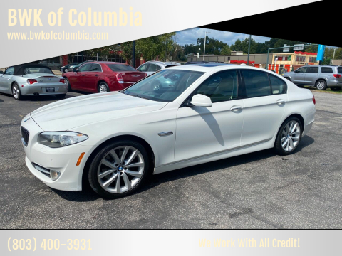 2011 BMW 5 Series for sale at BWK of Columbia in Columbia SC