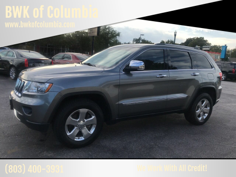 2013 Jeep Grand Cherokee for sale at BWK of Columbia in Columbia SC