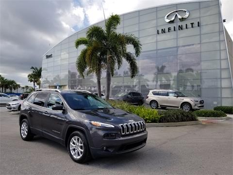2016 Jeep Cherokee for sale in Stuart, FL