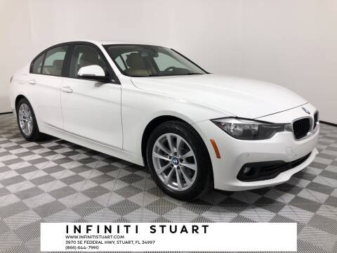 2017 BMW 3 Series for sale at Infiniti Stuart in Stuart FL