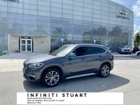 2017 BMW X1 for sale at Infiniti Stuart in Stuart FL