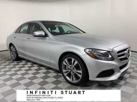 2017 Mercedes-Benz C-Class for sale at Infiniti Stuart in Stuart FL