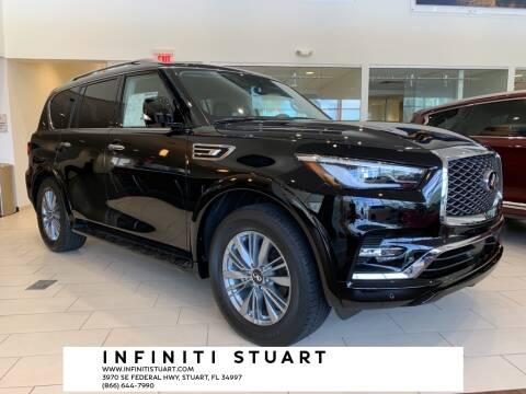 2021 Infiniti QX80 for sale at Infiniti Stuart in Stuart FL