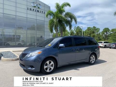 2016 Toyota Sienna for sale at Infiniti Stuart in Stuart FL