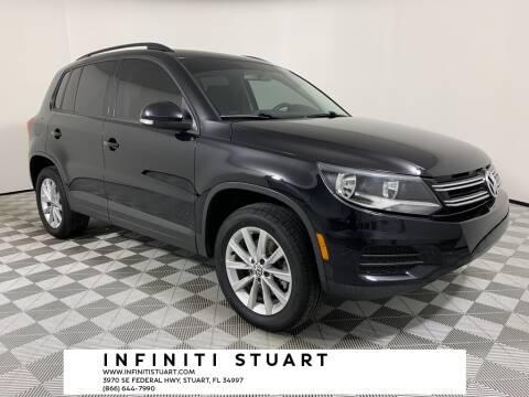 2017 Volkswagen Tiguan for sale at Infiniti Stuart in Stuart FL