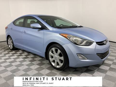 2012 Hyundai Elantra for sale at Infiniti Stuart in Stuart FL