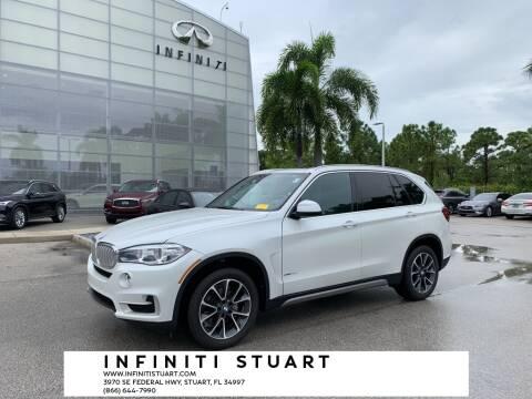 2017 BMW X5 for sale at Infiniti Stuart in Stuart FL