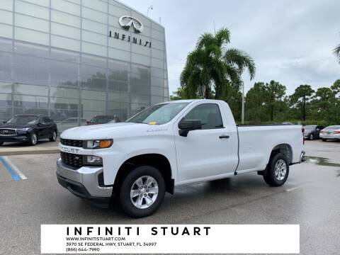 2019 Chevrolet Silverado 1500 for sale at Infiniti Stuart in Stuart FL