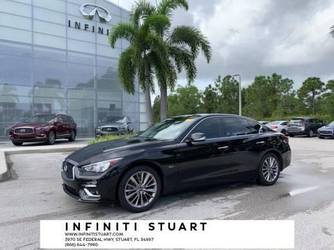 2018 Infiniti Q50 for sale at Infiniti Stuart in Stuart FL