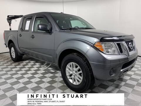2016 Nissan Frontier for sale at Infiniti Stuart in Stuart FL