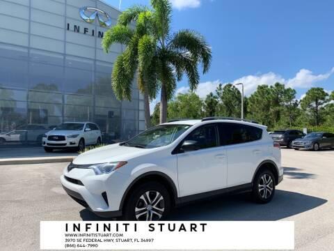 2017 Toyota RAV4 for sale at Infiniti Stuart in Stuart FL