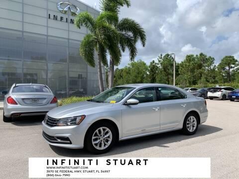 2017 Volkswagen Passat for sale at Infiniti Stuart in Stuart FL