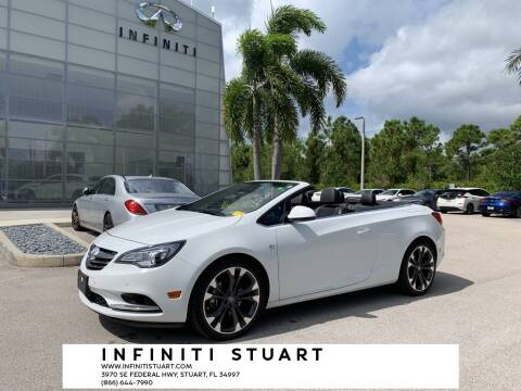 2016 Buick Cascada for sale at Infiniti Stuart in Stuart FL