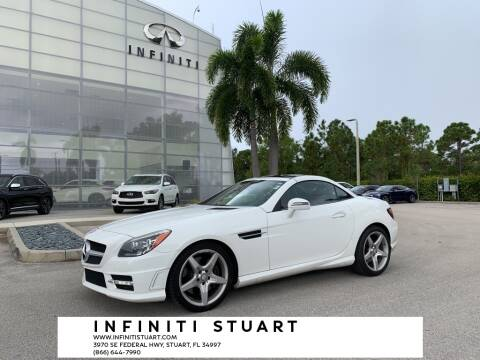 2015 Mercedes-Benz SLK for sale at Infiniti Stuart in Stuart FL
