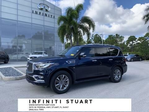 2018 Infiniti QX80 for sale at Infiniti Stuart in Stuart FL