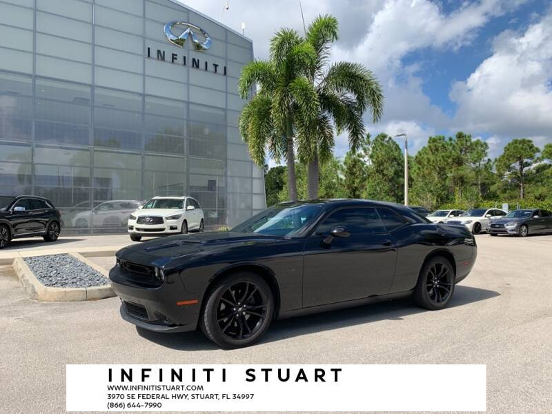 2017 Dodge Challenger for sale at Infiniti Stuart in Stuart FL