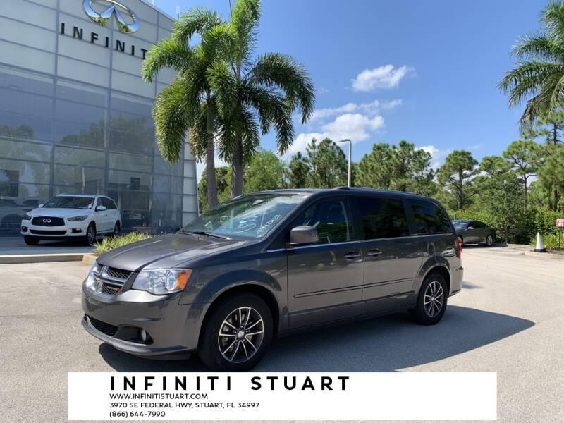 2017 Dodge Grand Caravan for sale at Infiniti Stuart in Stuart FL