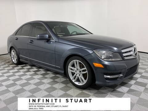 2013 Mercedes-Benz C-Class for sale at Infiniti Stuart in Stuart FL