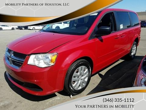 2016 Dodge Grand Caravan for sale in Houston, TX