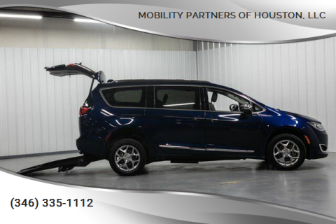 2018 Chrysler Pacifica Limited for sale at Mobility Partners of Houston, LLC in Houston TX
