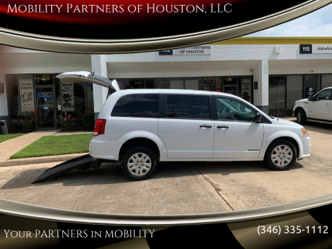 2019 Dodge Grand Caravan SE for sale at Mobility Partners of Houston, LLC in Houston TX