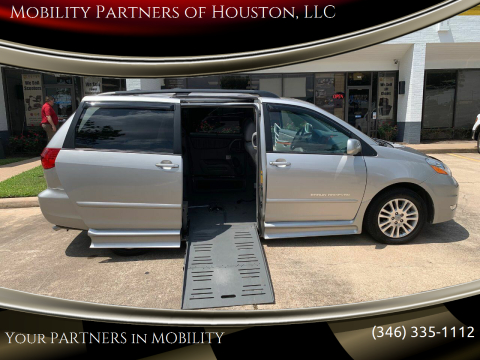 2010 Toyota Sienna XLE for sale at Mobility Partners of Houston, LLC in Houston TX