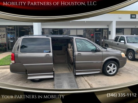 2005 Chevrolet Uplander Cargo for sale at Mobility Partners of Houston, LLC in Houston TX