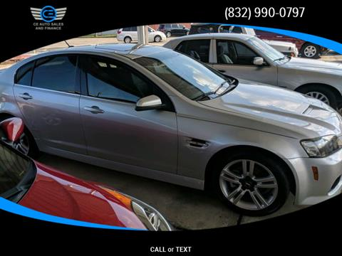 2009 Pontiac G8 for sale in Baytown, TX