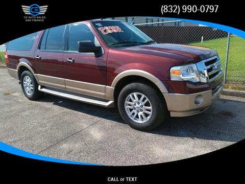 2012 Ford Expedition EL for sale in Baytown, TX