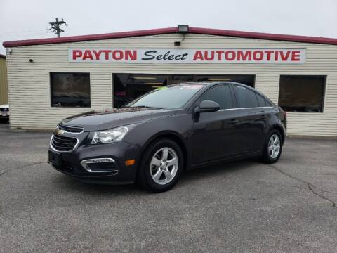 2015 Chevrolet Cruze 1LT Auto for sale at Payton Select Automotive Inc. in Heber Springs AR