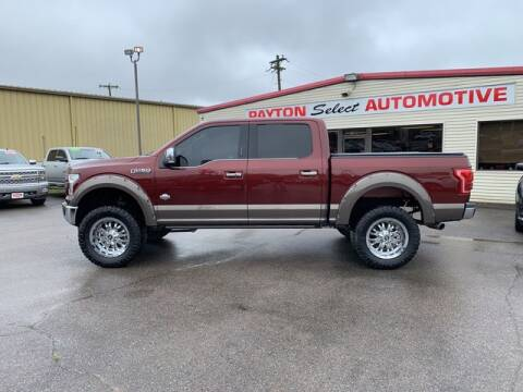 2015 Ford F-150 for sale at Payton Select Automotive Inc. in Heber Springs AR